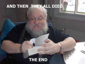 If you haven't Googled 'George RR Martin memes'...there are so many to choose from. So many.