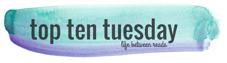 Top Ten Tuesday: 12/1 (1/2)